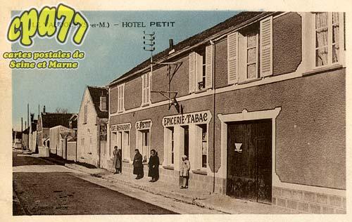 Le Vaudoué - Hôtel Petit