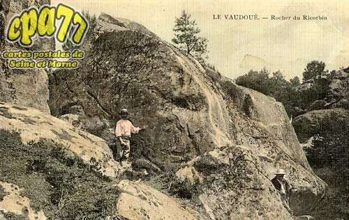 Le Vaudoué - Rocher du Ricorbin