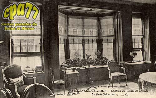 Vaux Sur Lunain - Villeniard (S.-et-M.) - Château du Comte de Mérode - Le Petit Salon (n°1)