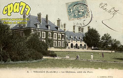 Vaux Sur Lunain - Le Château, côté du Parc