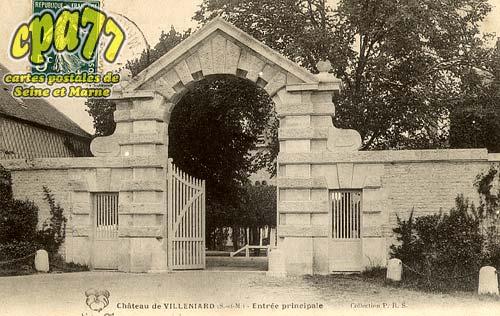Vaux Sur Lunain - Château de Villeniard (S.-et-M.) - Entrée principale