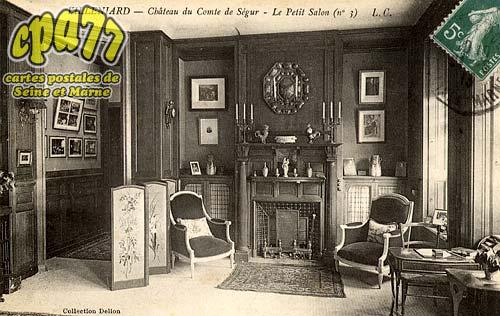 Vaux Sur Lunain - Château du Comte de Ségur - Le Petit Salon (n°3)