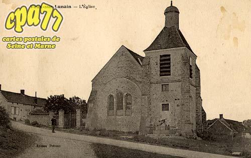 Vaux Sur Lunain - L'Eglise