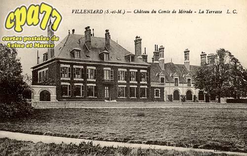 Vaux Sur Lunain - Château du Comte de Mérode - La Terrasse