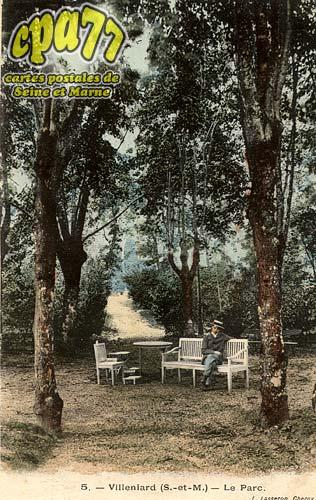 Vaux Sur Lunain - Le Parc