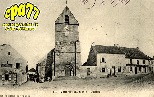 Vendrest - L'Eglise