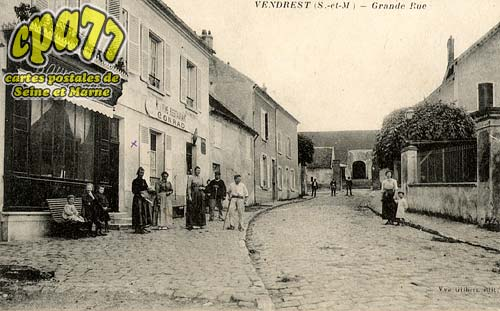 Vendrest - Grande Rue