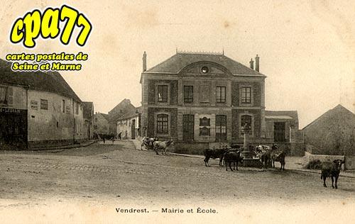 Vendrest - Mairie et Ecole