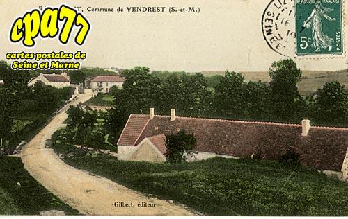 Vendrest - Rademont, Commune de Vendrest