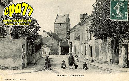 Vendrest - Grande Rue