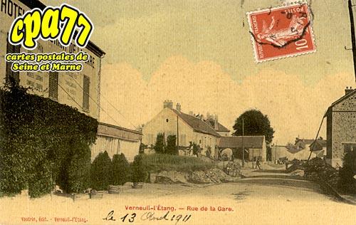Verneuil L'étang - Rue de la Gare
