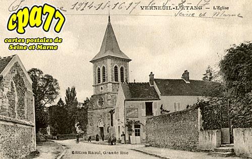 Verneuil L'étang - L'Eglise