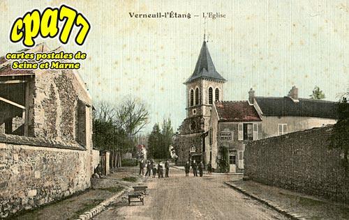 Verneuil L'étang - L'Eglise (en l'état)