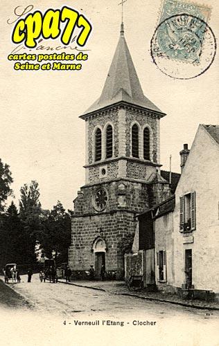 Verneuil L'étang - Clocher