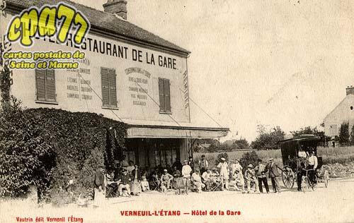Verneuil L'étang - Hôtel de la Gare