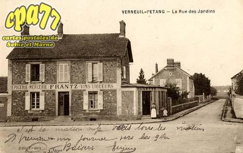 Verneuil L'étang - La Rue des Jardins