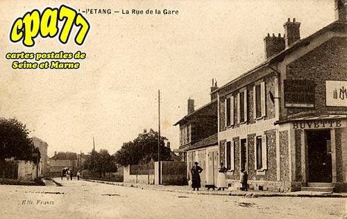 Verneuil L'étang - La Rue de la Gare