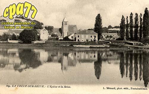Vernou La Celle Sur Seine - L'Eglise et la Seine