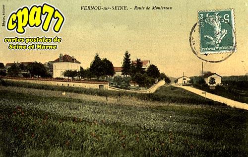 Vernou La Celle Sur Seine - Route de Montereau