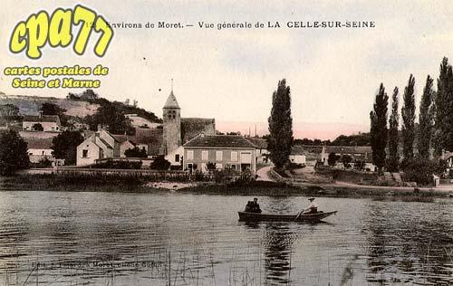 Vernou La Celle Sur Seine - Environs de Moret - Vue générale de la Celle-sur-Seine
