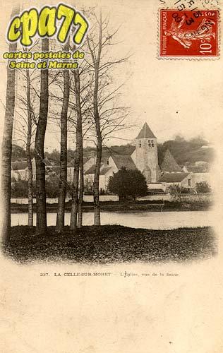 Vernou La Celle Sur Seine - L'Eglise, vue de la Seine