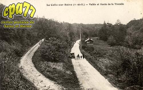 Vernou La Celle Sur Seine - Vallée et Route de la Thurelle