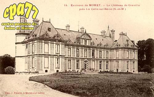 Vernou La Celle Sur Seine - Environs de Moret - Le Château de Graville près la Celle-sur-Seine (S.-et-M.)