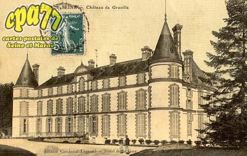 Vernou La Celle Sur Seine - Château de Graville