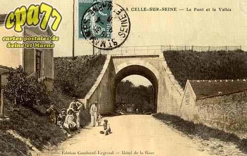 Vernou La Celle Sur Seine - Le Pont et la Vallée