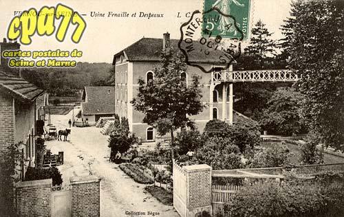 Vernou La Celle Sur Seine - Usine Fenaille et Despeaux