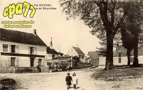 Vilbert - Maison Vve Duveau - Epicerie - Billard - Garage de Bicyclettes