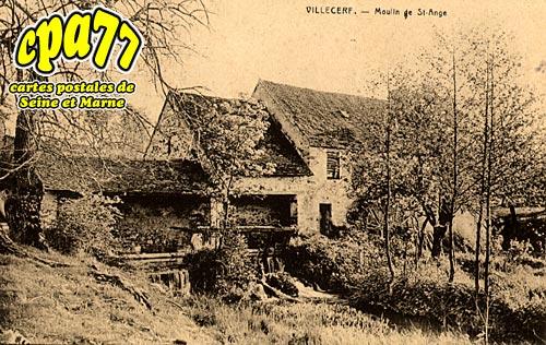 Villecerf - Moulin de St-Ange