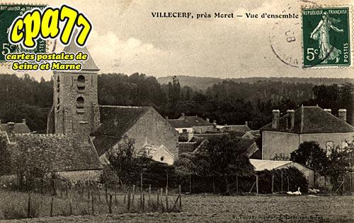 Villecerf - Vue d'ensemble