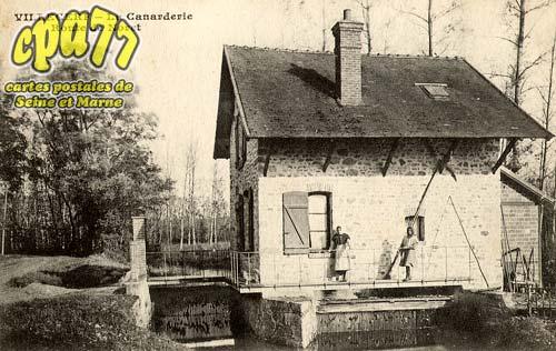 Villecerf - La Canarderie - Route de Novet