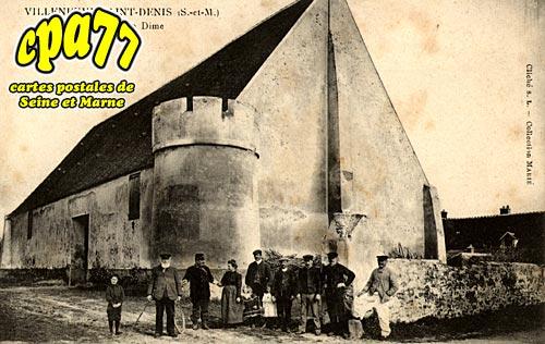 Villeneuve St Denis - Grange de la Dime