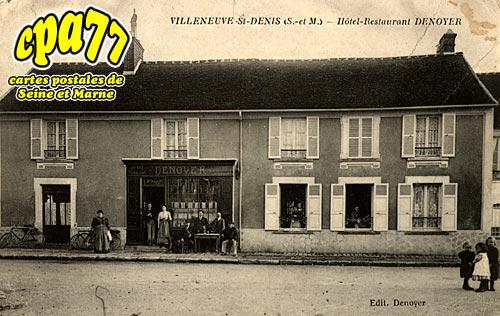 Villeneuve St Denis - Hôtel-Restaurant DENOYER