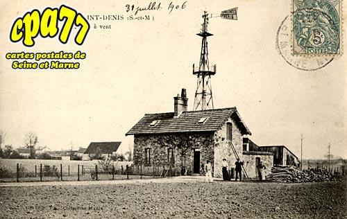 Villeneuve St Denis - Moulin à vent