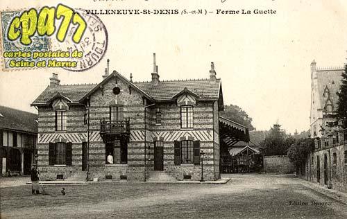 Villeneuve St Denis - Ferme La Guette