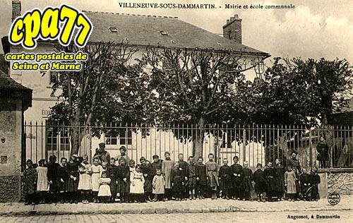 Villeneuve Sous Dammartin - Mairie et Ecole Communale