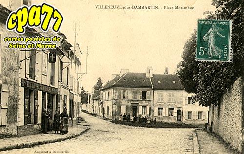Villeneuve Sous Dammartin - Place Morambue