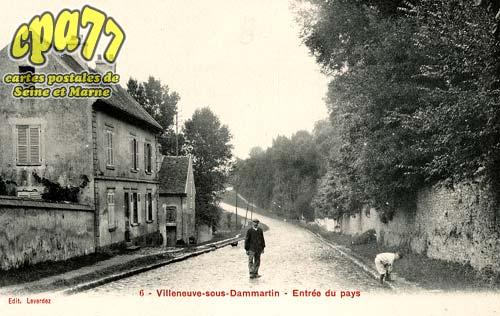 Villeneuve Sous Dammartin - Entrée du pays