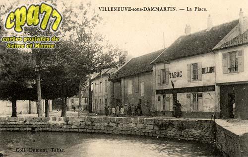 Villeneuve Sous Dammartin - La Place