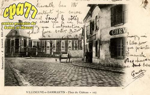 Villeneuve Sous Dammartin - Place du Château - 107