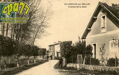 Villeneuve Sur Bellot - Avenue de la Gare