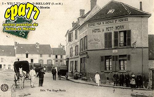 Villeneuve Sur Bellot - Hôtel du Petit Morin