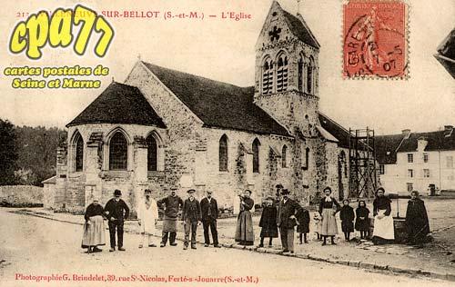 Villeneuve Sur Bellot - L'Eglise
