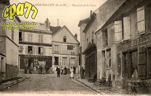 Villeneuve Sur Bellot - Descente de la Gare