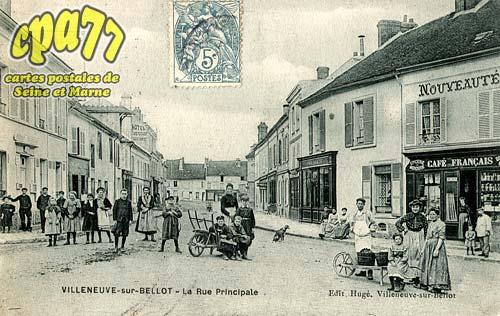 Villeneuve Sur Bellot - Rue Principale