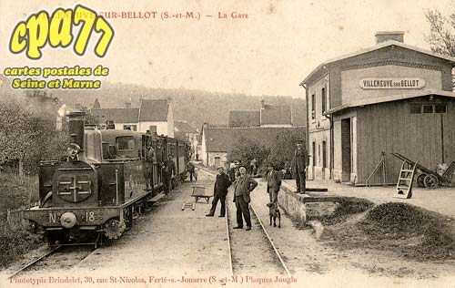 Villeneuve Sur Bellot - La Gare