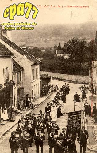 Villeneuve Sur Bellot - Une noce au Pays